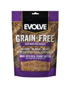 Snack EVOLVE Grain Free Mantequilla Mani - Ciudaddemascotas.com