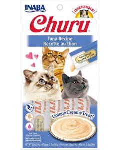 Snack INABA Cat Churu 4 Piezas de Atún - Ciudaddemascotas.com