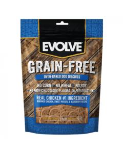 Comida Evolve Snack Grain Free Pollo - Ciudaddemascotas.com