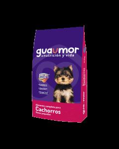 Comida Perros GUAUMOR CACHORROS PEQUEÑOS Ciudaddemascotas.com