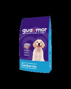 Comida Guaumor Cachorros Razas medianas - Ciudaddemascotas.com
