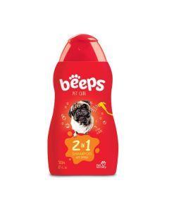 Pet Society Shampoo Beeps 2 en 1 X 502 mL/17 Oz - Ciudaddemascotas.com