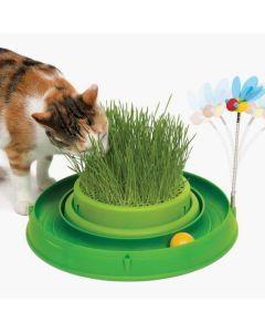 Juego Grass y Juguete Verde  Catit - ciudaddemascotas.com