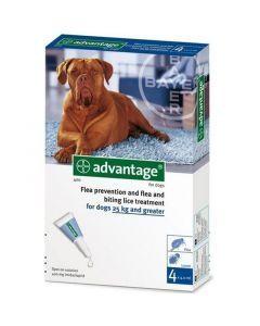 Advantage Pipeta para Perros de más de 25 kg hasta 40 kg
