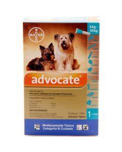 Advocate Pipeta para Perros de más de 4 kg hasta 10 kg