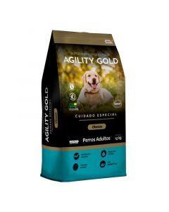 Comida para Perros Agility Gold Obesos 7 Kg-Ciudaddemascotas.com