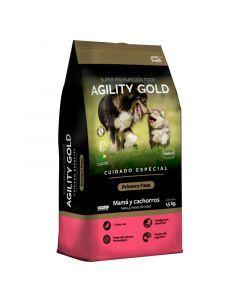 Comida para Perros Agility Gold Primera Fase 8 Kg-Ciudaddemascotas.com