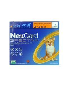 Nexgard Spectra 2 - 3.5 Kg - P80