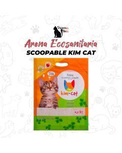 Arena Ecosanitaria Scoopable Kim Cat 4.5Kg