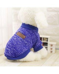 Buzo Valentin For Pets en algodón Azul - ciudaddemascotas.com