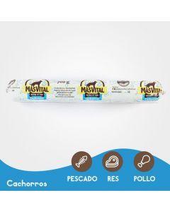MasVital Cachorros Barra por 700 gr - Ciudaddemascotas.com