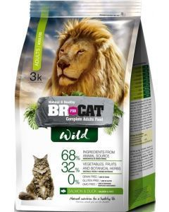 Br For Cat Wild Adulto 3 kg