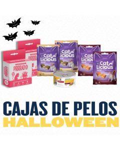 Caja de pelos para Gato - Edición Vito Pro Halloween - Ciudaddemascotas.com