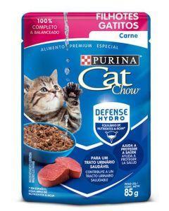 Comida para gatos Cat Chow pouch carne-Ciudaddemascotas.com