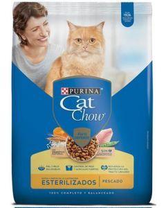 Comida para gatos CAT CHOW ESTERILIZADOS  Prebioticos 500 gr - Ciudaddemascotas.com