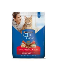 Comida Purina Cat Chow Para Gatos Adultos - Ciudaddemascotas.com