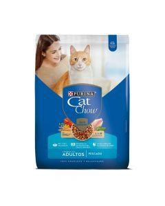 Comida Cat Chow Adultos Pescado 1.5 Kg - ciudaddemascotas.com