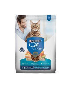 Comida para gatos Cat Chow Vida Sana (3 Kg)-Ciudaddemascotas.co