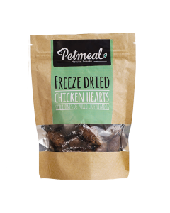 Snack Petmeal Natural Chicken Hearts - Ciudaddemascotas.com