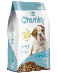 Comida para Perros Chunky cachorros - Ciudaddemascotas.com