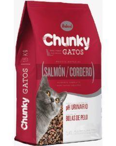 Chunky Gatos Salmón y Cordero