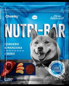 Chunky Nutri-Bar Snack De Cordero Y Manzana 150 G