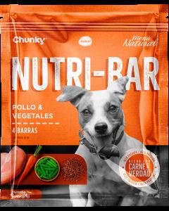 Chunky Nutri-Bar Snack De Pollo Y Vegetales 150 G