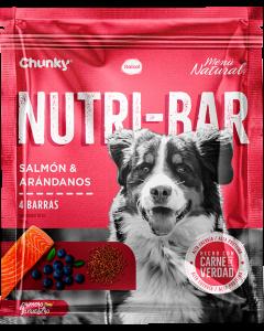 Chunky Nutri-Bar Snack De Salmón Y Arándanos 150 G