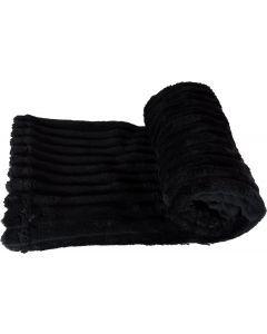 Cobija Relief para Mascotas Negro M