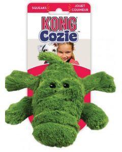 Peluche para perro Kong cocodrilo medium-Ciudadddemascotas.com