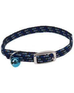 Lil pals gato collar azul reflectivo