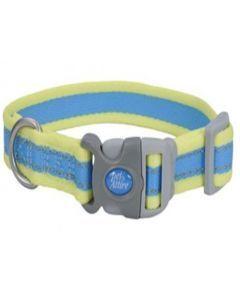 Collar Pro Azul Con Amarillo Neón