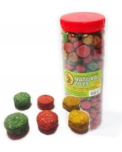 Snack Coquitos de Fibra Natural 1 KL - Ciudaddemascotas.com