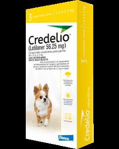 Antipulgas para perro Credelio 1,3 a 2,5 kg - Ciudaddemascotas