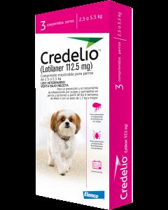 Antipulgas Credelio para Perro 2,5 a 5,5 kg -Ciudaddemascotas.com