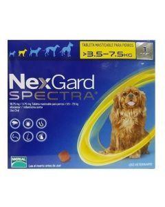 Nexgard Spectra 3.6 - 7.5 Kg - P80