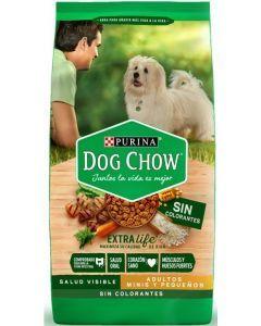 Comida Perros Dog Chow sin colorantes mini-Ciudaddemascotas.com