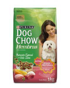 Dog Chow Hembras x 1Kg