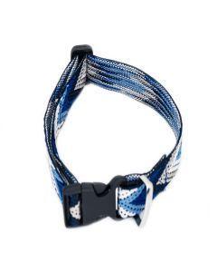 PetsMasters Collar Artesanal Azul Multicolor