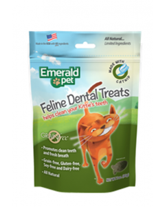 Emerald Pet Snack Para Gatos Dental Catnip