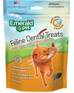 Snacks para gatos Emerald pet  Dental Pollo-Ciudaddemascotas.com