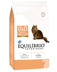 Equilibrio Gato Veterinary Obesity And Diabetic x 0.5 Kg - PRSR