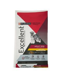 Excellent Adult Small Breed x 3 Kg