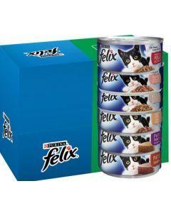 Felix en lata sabores surtidos x 6 unidades