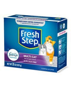 Fresh Step Arena Multi Cat Aglomerante x 9 Kg