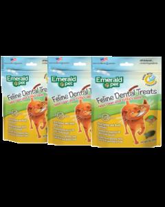 Emerald Pet Snack Para Gatos Dental Pavopato Combo X 3 Und