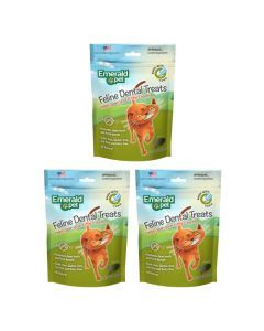 Emerald Pet Snack Para Gatos Dental Atún Combo X3Und