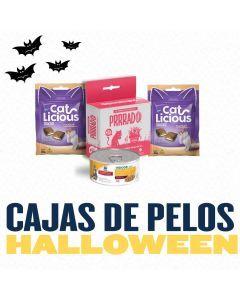 Caja de pelos para Gato - Edición Vito Halloween - Ciudaddemascotas.com