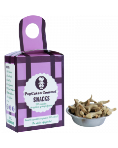 Snacks de Hígado y Verduras - Miu Miu 130 gr PupCakes Gourmet