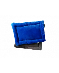 Cojín Colchoneta Azul con Gris talla S-ciudaddemascotas.com